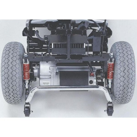 Merits Health S341 Pioneer 10 Bariatric 4 Wheel Scooter Motor View