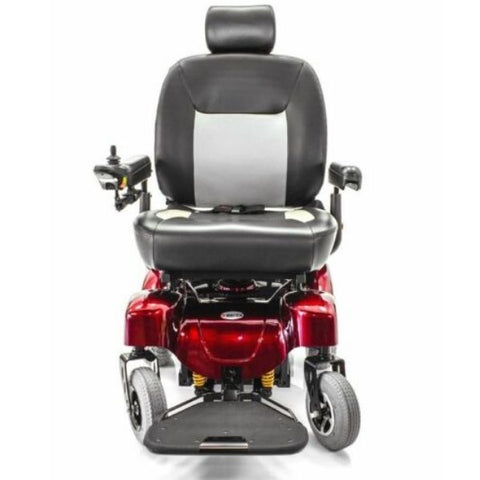 Merits P710 Atlantis Heavy Duty Electric Power Wheelchair Front View