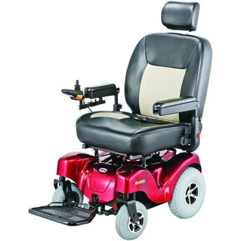 Merits P710 Atlantis Heavy Duty Electric Power Wheelchair Left View