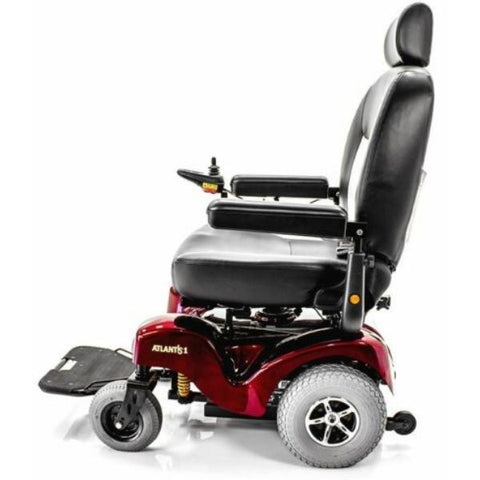Merits P710 Atlantis Heavy Duty Electric Power Wheelchair Right Side View