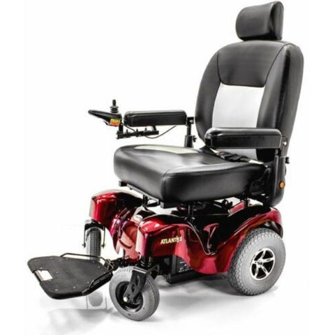 Merits P710 Atlantis Heavy Duty Electric Power Wheelchair Right View