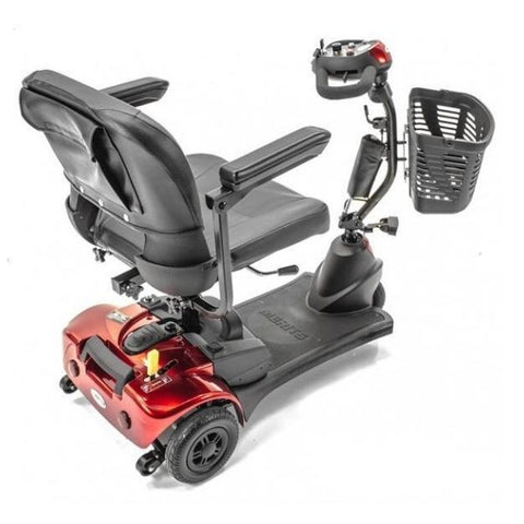 Merits S731 Roadster 3-Wheel Mobility Travel Scooter Back Right View
