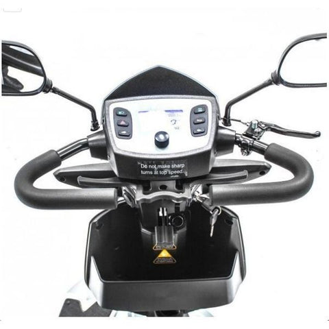 Merits S941A Silverado 4-Wheel Scooter Delta Handlebar View