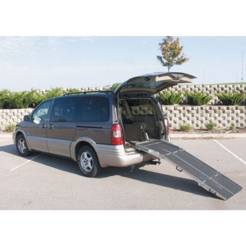 PVI Folding Rear Door Ramp Durable Welded Construction View