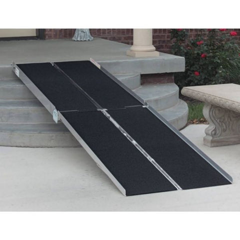 PVI Multi-Fold Ramp Lightweight, Easy-to-Handle and Set Up View