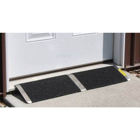 PVI Threshold Ramp Designed for Doorways that Swing In View