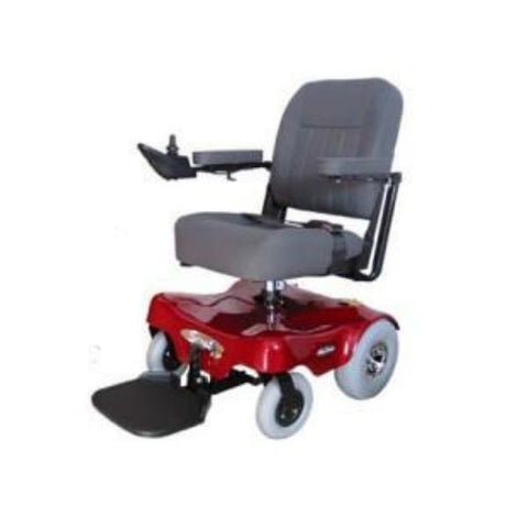 Pacesaver Scout M1 Electric Power Wheelchair Left View