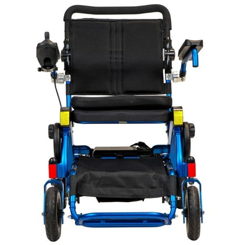 Pathway Mobility Geo-Cruiser LX Power Wheelchair Blue Front View