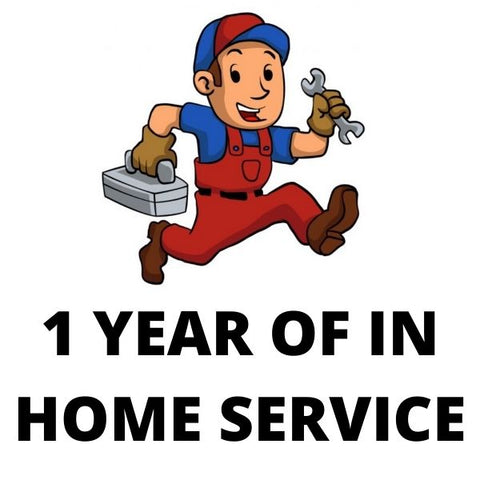Pride 1 Year In Home Service Contract