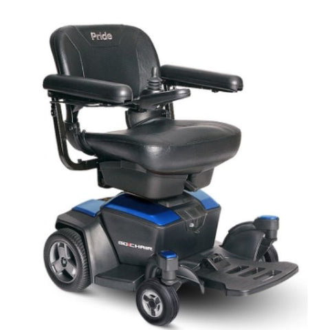 Pride Go-Chair Sapphire Blue Right View