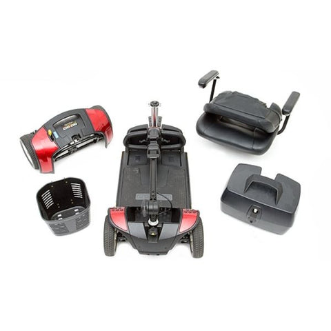 Pride Go-Go Sport 4 Wheel Scooter S74 Disassemble View