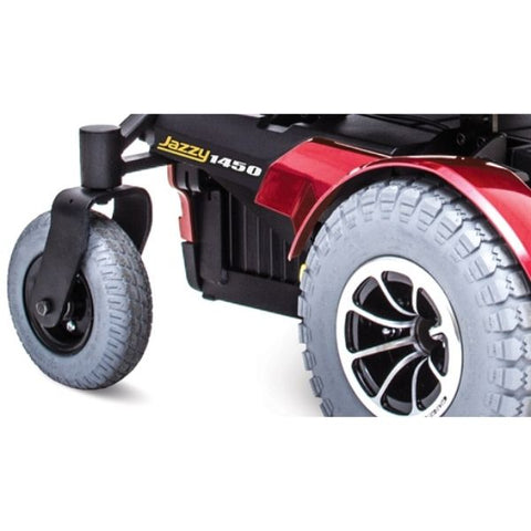 Pride Jazzy 1450 Heavy Duty Power Chair Wheels View