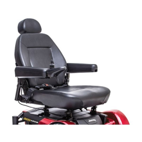 Pride Jazzy 1450 Heavy Duty Power Seat View