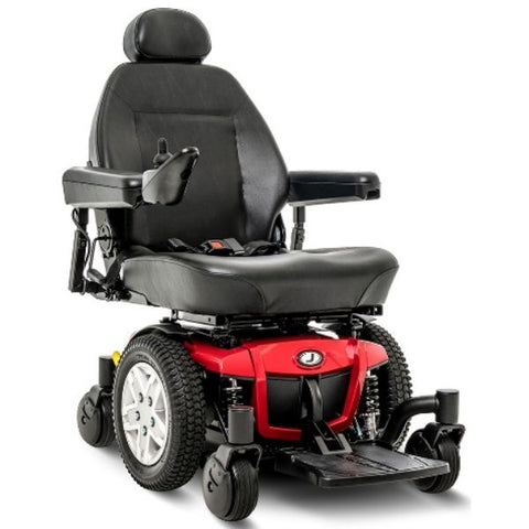 Pride Jazzy 600 ES Mid Wheel Power Chair Front View