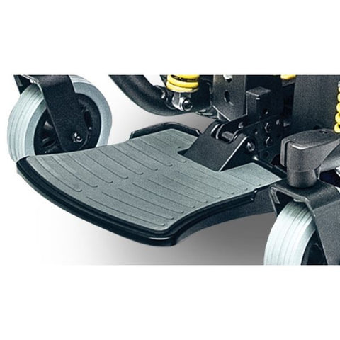 Pride Jazzy 614 HD Power Chair Footplate View