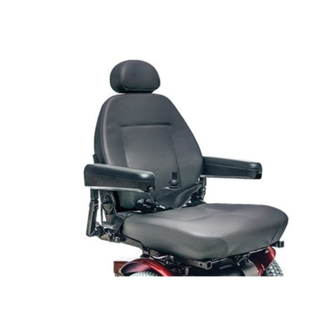Pride Jazzy 614 HD Power Chair Seat View