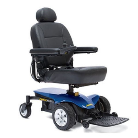 Pride Jazzy Elite ES Power Chair Front View