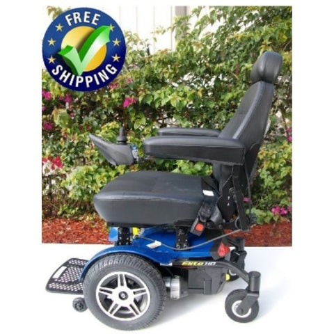 Pride Jazzy Elite HD Front Wheel Power Chair Side View