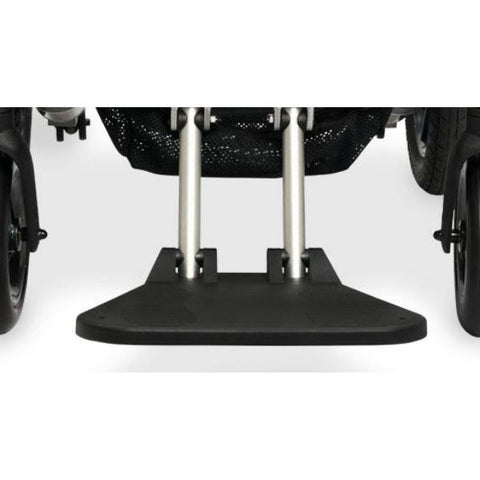 Pride Jazzy Passport Folding Power Chair Footplate View