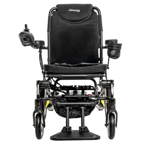 Pride Jazzy Passport Folding Power Chair Front View