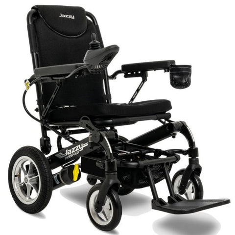 Pride Jazzy Passport Folding Power Chair Right View