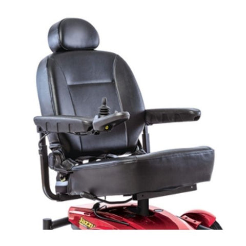 Pride Jazzy Select 6 Power Chair Seat View