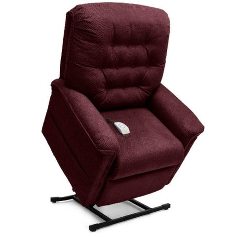 Pride Mobility Heritage Collection 3-Position Lift Chair LC-358 Black Cherry Cloud 9 Standing View