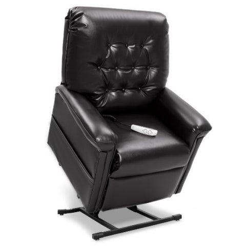 Pride Mobility Heritage Collection 3-Position Lift Chair LC-358 Black Lexis Sta Kleen Standing View