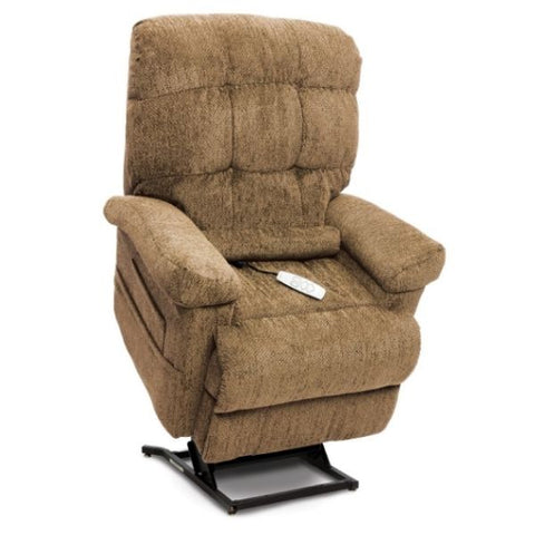 Pride Mobility Oasis Collection Zero Gravity LC-580i Lift Chair Cashmere Saratoga Standing View
