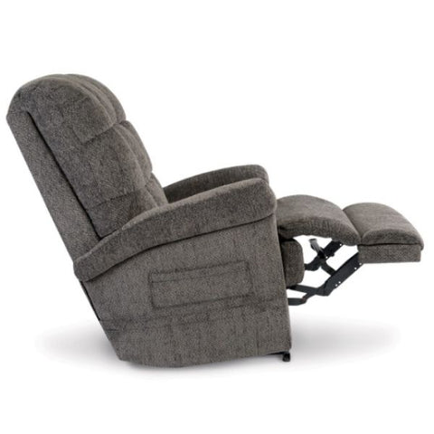 Pride Mobility Oasis Collection Zero Gravity LC-580i Lift Chair Charcoal Saratoga Side Split-T Back View