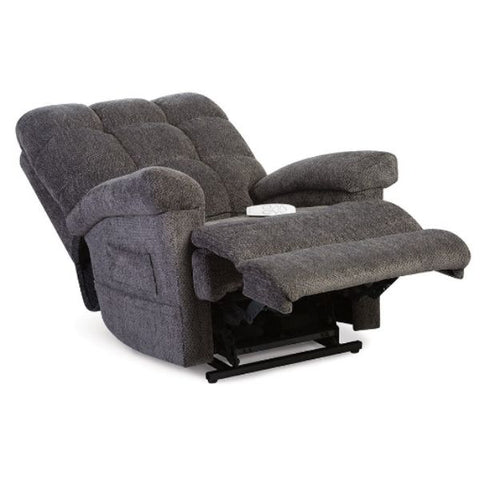 Pride Mobility Oasis Collection Zero Gravity LC-580i Lift Chair Charcoal Saratoga Split-T Back View