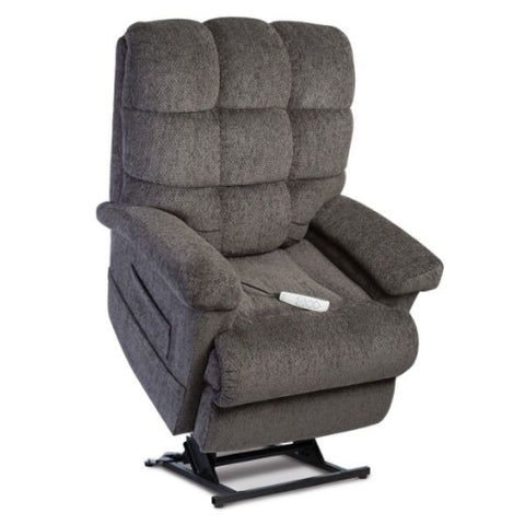 Pride Mobility Oasis Collection Zero Gravity LC-580i Lift Chair Charcoal Saratoga Standing View