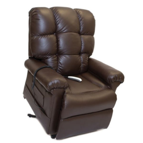 Pride Mobility Oasis Collection Zero Gravity LC-580i Lift Chair Ultraleather Fudge Standing View