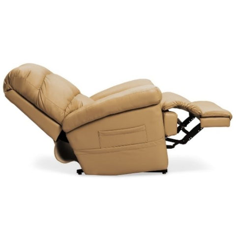 Pride Mobility Oasis Collection Zero Gravity LC-580i Lift Chair Ultraleather Pecan Side View