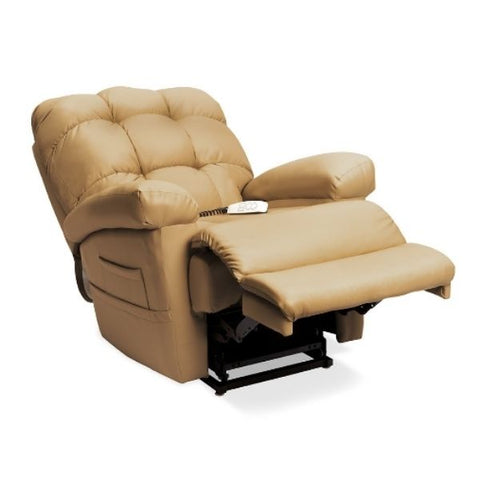 Pride Mobility Oasis Collection Zero Gravity LC-580i Lift Chair Ultraleather Pecan Split-T Back View