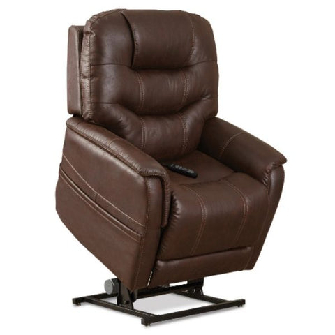Pride Mobility Viva Lift Elegance Infinite-Position Lift Chair PLR-975M Badlands Walnut Standing View