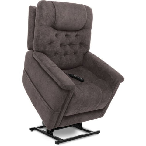 Pride Mobility Viva Lift Legacy Infinite-Position Lift Chair PLR-958 Saville Grey Standing View