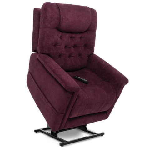 Pride Mobility Viva Lift Legacy Infinite-Position Lift Chair PLR-958 Saville Wine Standing View
