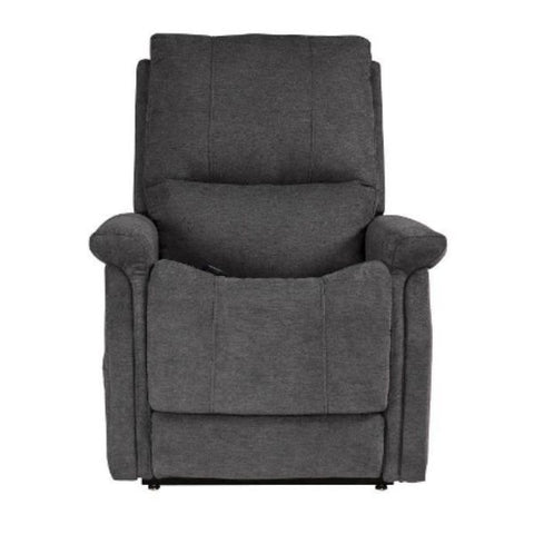 Pride Mobility Viva Lift Metro Infinite-Position Lift Chair PLR-925M Saville Grey Front Seat View