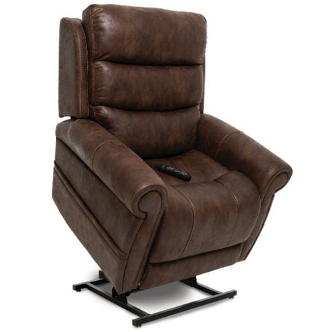 Pride Mobility Viva Lift Tranquil Infinite-Position Lift Chair PLR-935 Astro Brown Standing View