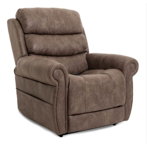 Pride Mobility Viva Lift Tranquil Infinite-Position Lift Chair PLR-935 Astro Mushroom Seat View