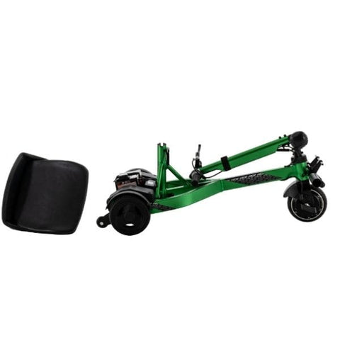 Pride Mobility  iRide Ultra Lightweight Scooter Removable Seat and Foldable Tiller