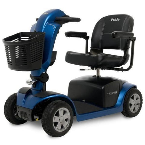 Pride Victory 10.2 Mid-Size Bariatric 4 Wheel Scooter SC7102 Blue Left View