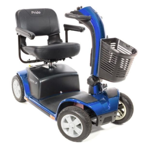 Pride Victory 10 4-Wheel Power Scooter SC710 Blue Right View