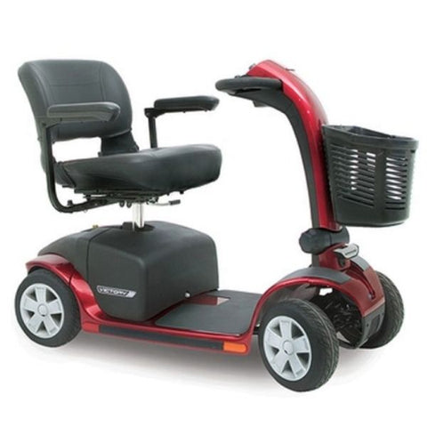 Pride Victory 10 4-Wheel Power Scooter SC710 Red Right View