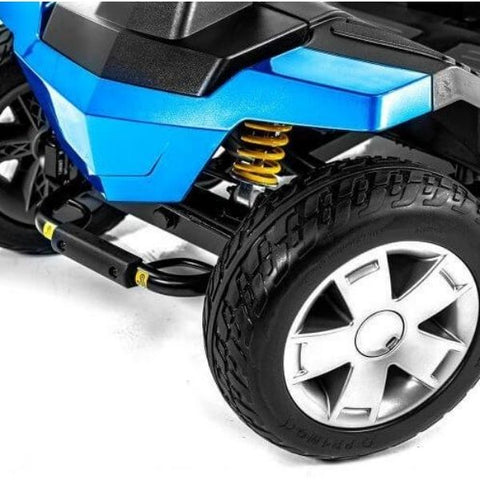 Pride Victory LX Sport 4-Wheel Scooter S710LXW Front Wheel View