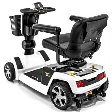 Pride ZT10 4-Wheel Mobility Scooter Back View
