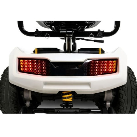 Pride ZT10 4-Wheel Mobility Scooter Rear Lights View