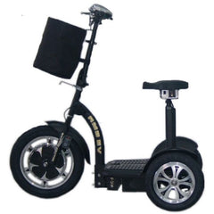 RMB EV Multi Point 48v 500W 3 Wheel Scooter Side View