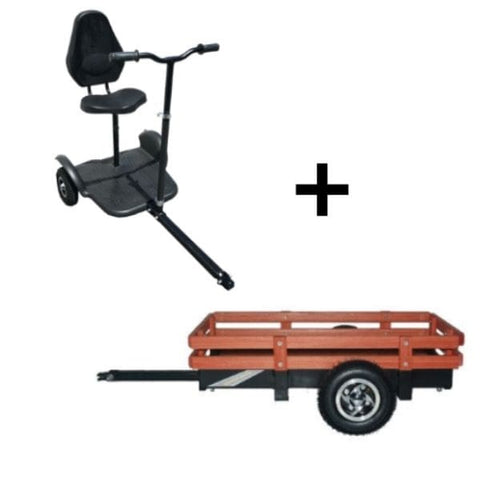 RMB EV Multi Point Scooter Tag a Long Trailer Storage Trailer